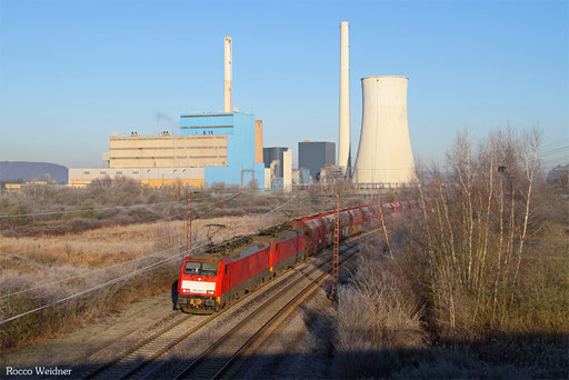 DT 189 034 + 189 030 mit GM 48712 Dillingen Hochofen Hütte - Maasvlakte Oost/NL (Mosel-Umleiter), Ensdorf(Saar) 29.12.2016
