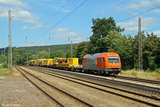 2016 906 mit DGV 62082 Ulm Rbf - Ehrang Nord (Sdl.), Dudweiler 08.08.2016