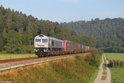 Rhein Cargo 266 062 und SBB Cargo 482 022 mit DGS 40962 Zürich Limmattal - Köln Eifeltor