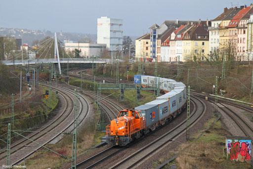 272 001 mit DGZ 95263 Dillingen-Katzenschwänz - Homburg(Saar) Hbf, Saarbrücken 12.02.2018