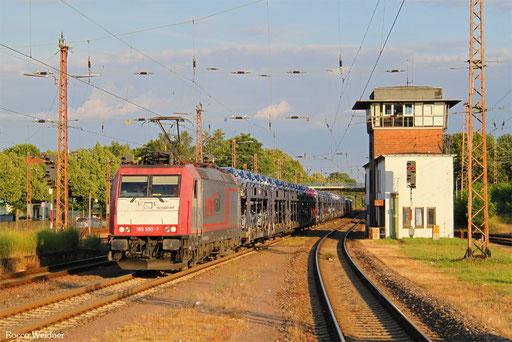 185 590 mit DGS 42591 Dillingen Ford - Aachen-Gemmenich, Dillingen(Saar) 15.07.2016