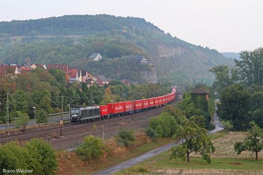 185 546 mit DGS 95439 Regensburg Ost -  Dradenau (Sdl.)