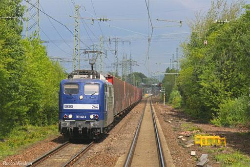 151 143 mit GA 52784 Rüsselsheim Opelwerk - Einsiedlerhof, 13.05.2016