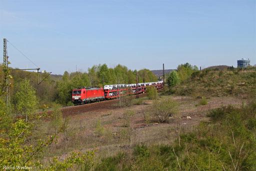 186 329 mit EZ 49266 Einsiedlerhof - Vaires-Torcy/F, Neunkirchen(Saar) 20.04.2017