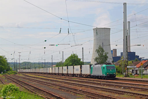 185 533 mit DGS 69210 Forbach/F - Hamburg Süd (Sdl.), Ensdorf(Saar) 22.05.2016