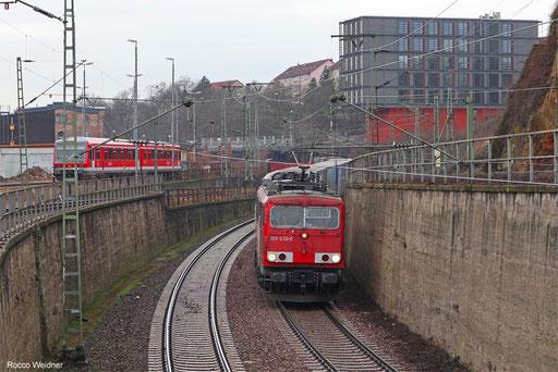 155 030 mit EZ 51422 von Gremberg Gsf - Saarbrücken Rbf Nord, 09.03.2018