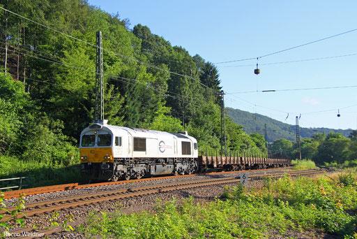77 022 mit EK 55986 St.Ingbert - Saarbrücken Rbf Nord, Scheidt(Saar) 15.07.2016