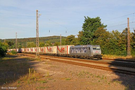 185 540 mit DGS 41564 München-Laim Rbf - Bettembourg-Marchandises/L, Dudweiler 03.09.2016