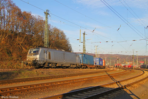 BB37022 mit DGS 44432 Ludwigshafen/Rhein BASF Ubf - Forbach/F (Sdl.KV), Saarbrücken Rbf 10.12.2016