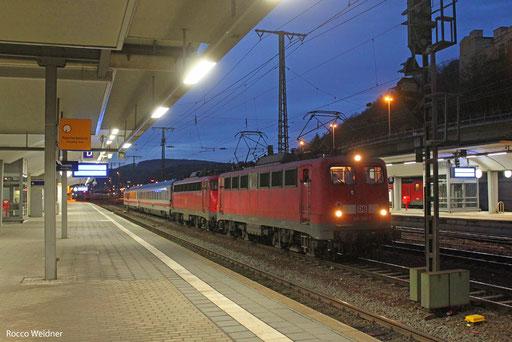 140 569( 110 441) mit  PbZ 2476 Frankfurt(M)Hbf - Dortmund Bbf, Koblenz Hbf 15.12.2013
