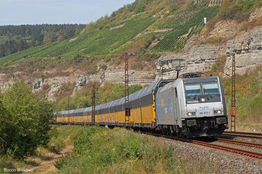 185 673 mit DGS 47165 Bremerhaven-Kaiserhafen - Kecskemet