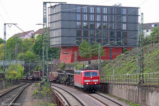 181 215 mit EK 55410 Dillingen Hochofen Hütte - Saarbrücken Rbf Nord, 05.05.2017