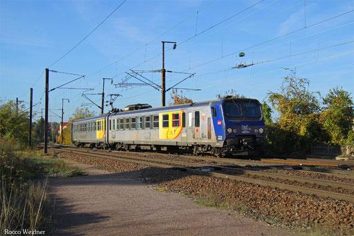 Z 11516 als TER 823831 Metz Ville - Forbach, 30.10.2016