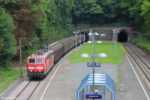 181 204 mit EZ 50857 Einsiedlerhof - Saarbrücken Rbf Nord (Sdl. DBCL GmbH), Merchweiler 31.07.2017