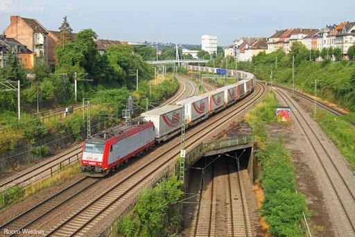 4007 mit DGS 41565 Bettembourg-Marchandises/L - München-Laim Rbf, Saarbrücken 22.07.2016