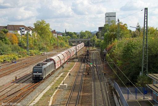 185 567 mit GM 60439 Auersmacher - Dillingen Zentralkokerei, SB-Burbach 10.10.2016