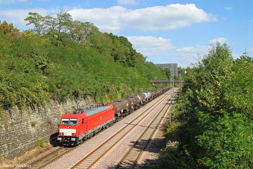 186 172 mit GC 44420 Großenkneten - Forbach/F (St-Clair-les-Roches) (Sdl.Schwefel), Saarbrücken 06.09.2016