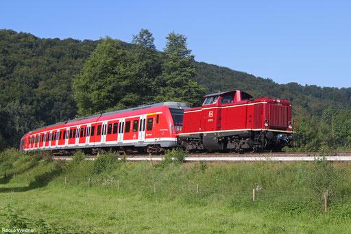 UTL 212 371 mit DbZ 79681 Horb - Plochingen