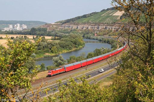 152 158 mit GA 47987 Bremerhaven Nordhafen -Passau Gbf (Kalsdorf) (Sdl.PKW)