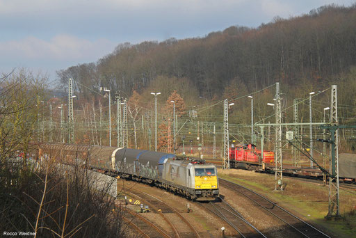 186 310 mit EZ 44222 Mannheim Rbf Gr.G - Vaires-Torcy/FR, Saarbrücken Rbf 18.02.2018