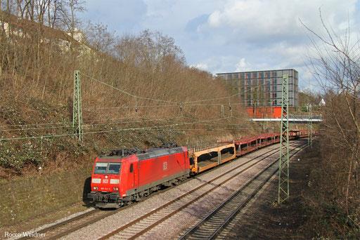 185 143 mit EK 55439 Saarbrücken Rbf West - Dillingen Ford, 07.03.2017