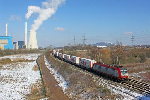 4009 mit DGS 49511 Bettembourg/L - München Laim Rbf, Ensdorf 15.03.2013