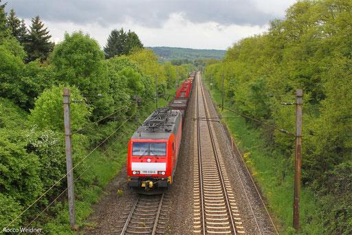 189 032 mit EK 55975 Völklingen Walzwerk - Neunkirchen(Saar) Hbf,  Dudweiler 21.05.2013