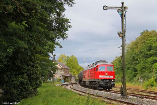 232 259 mit EZ 46132 (Basel SBB Rb) Zürich-Limmattal (RBL) - Mannheim Rbf Gr.M (Sdl. Frachten, Rastatt Umleiter), Überlingen Therme 13.09.2017