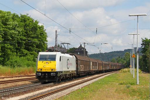 186 342 mit EZ 44220 Mannheim Rbf Gr.G - Vaires-Torcy, Dudweiler 21.07.2016