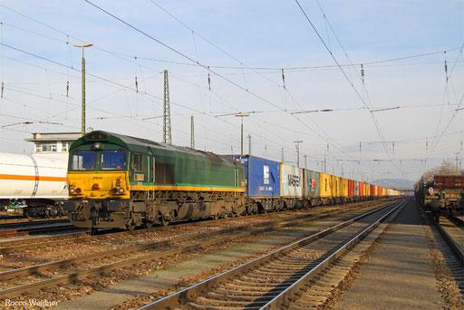 266 065 mit DGS 41595 Antwerpen-Zuid/B - Wörth(Rhein), Karsruhe Gbf 01.12.2016