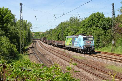 185 152 mit EZ 45663 Bettembourg/L - Gremberg Bs, Saarbrücken 18.05.2017