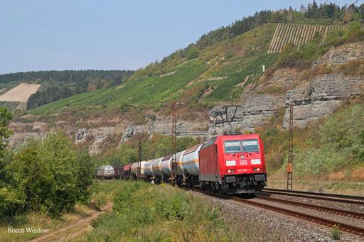 185 282 mit EZ 51183 Hagen-Vorhalle Vof - Nürnberg Rbf Einfahrt