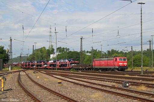 181 204 mit EZ 51929 Dillingen Ford - Mannheim Rbf Gr.M, Neunkirchen(Saar) 14.07.2017