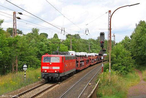 181 213 mit EZ 49266 Einsiedlerhof - Vaires-Torcy/F (Villers Cotterêts), Sulzbach(Saar) 05.07.2016