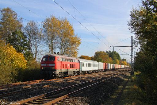 225 073 mit M 62652 Nordenham - Hauptstuhl (Sdl.), 31.10.2016