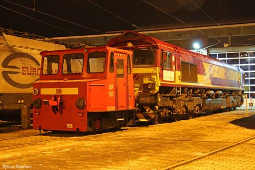 ASF 153 und 66231, Saarbrücken 04.02.2017
