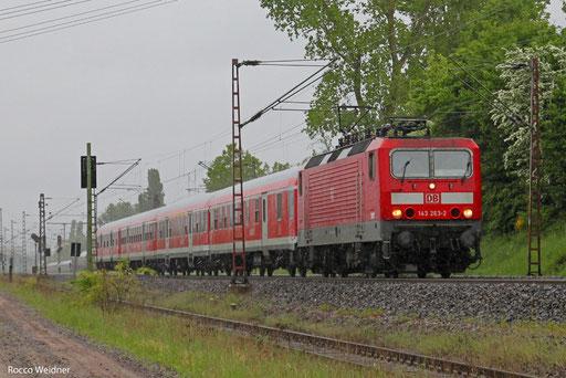 143 263 mit RB 13661 Trier Hbf - Saarbrücken Hbf (Sdl. Saarpedal), Ensdorf(Saar) 19.05.2013