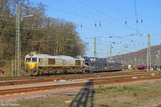 77 013 mit GA 46356 (Trnava/SK) Nürnberg Rbf Ausfahrt - Valenton/F, Saarbrücken Rbf Ost 04.12.2016