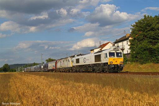 77 022 (186 315) mit XP 49246 Einsiedlerhof - Forbach/F (Cerbere), Vogelbach 06.07.2016