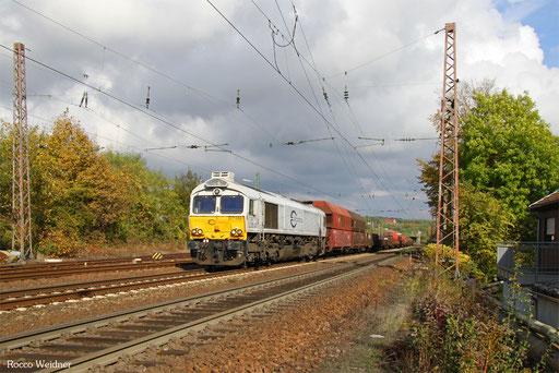 77 001 mit EK 55884 Neunkirchen(Saar) Hbf - Saarbrücken Rbf Nord, Sulzbach(Saar) 18.10.2016