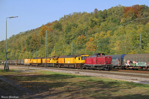 213 335 mit DGV 91536 Merzig - Northeim (Sdl.), Luisenthal(Saar) 16.10.2017