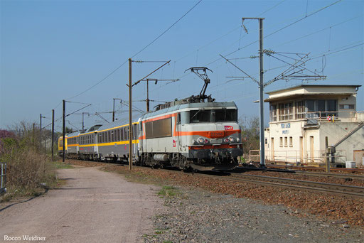 BB22386 mit 999169 Remilly - Forbach  (Sdl.), 04.04.2017