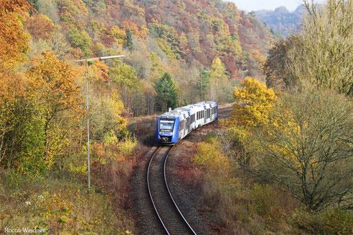 622 409 als RB 29610 Idar-Oberstein - Baumholder, Heimbach(Nahe) 12.11.2016