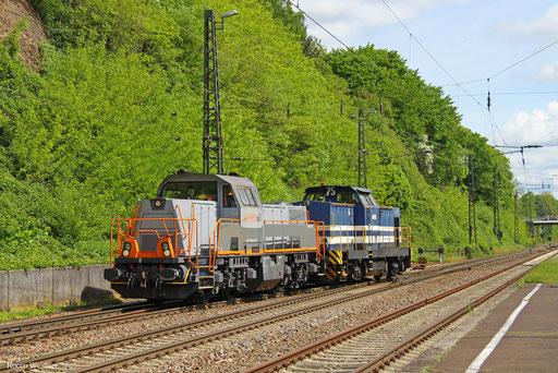 """261 306 und """"Blue Cat""""  , Jägersfreude 21.05.2016"""