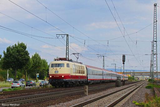 103 235 mit IC 118 Salzburg Hbf/A - Münster, Mannheim 03.08.2013
