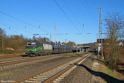 193 217 mit DGS 47196 Passau Grenze - Saarbrücken Rbf Nord (Sdl.), Dudweiler 29.11.2016