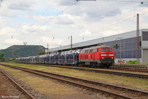 225 073 mit GA 62408 Dillingen Ford - Dillingen(Saar) (Sdl. PKW SAR), Saarlouis 08.07.2016