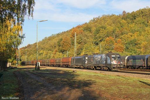 DT 182 509 + 182 ... mit DGS 95001 Dillingen Hochofen Hütte - Moers (Sdl.), Luisenthal(Saar) 18.10.2017