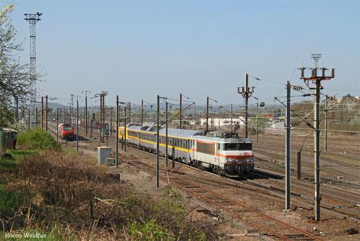 Messfahrt Richtung Deutsch-Französischer Grenze