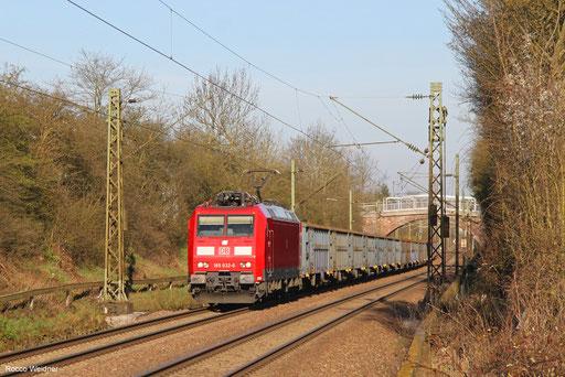 185 032 mit EZ 45679 Belval-Usines/L - Homburg(Saar) Hbf,  Altenkessel 07.04.2018